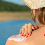 Putting on Sunscreen