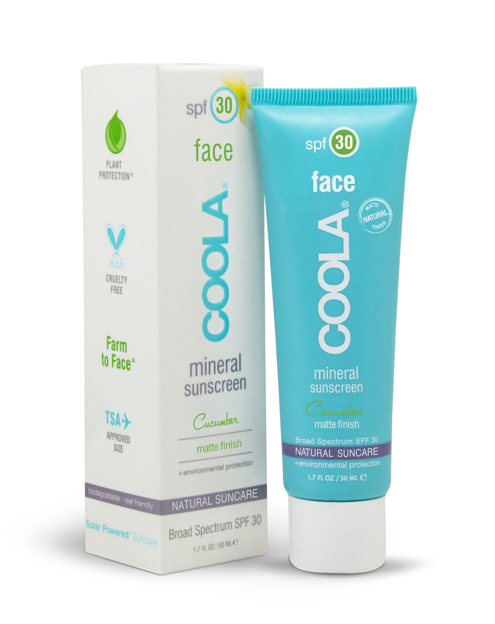 COOLA Mineral Face SPF 30 Cucumber Matte Finish
