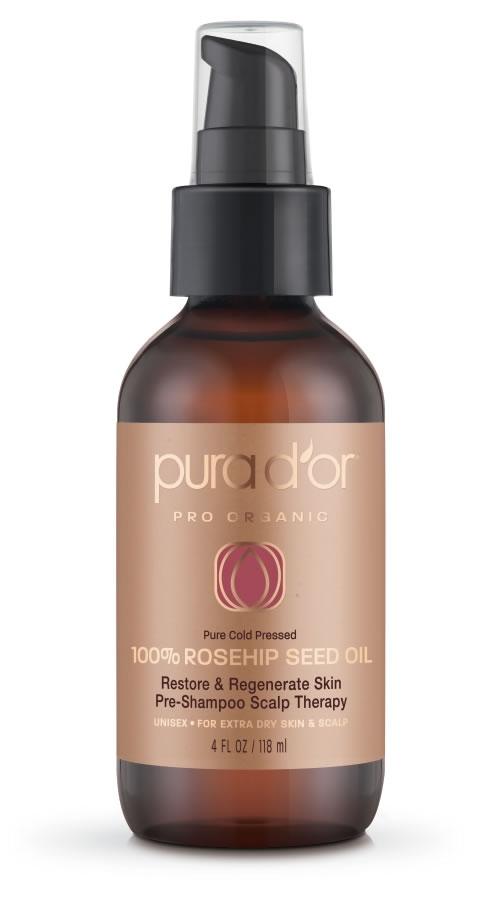 Pura d'or 100% Rosehip Seed Oil