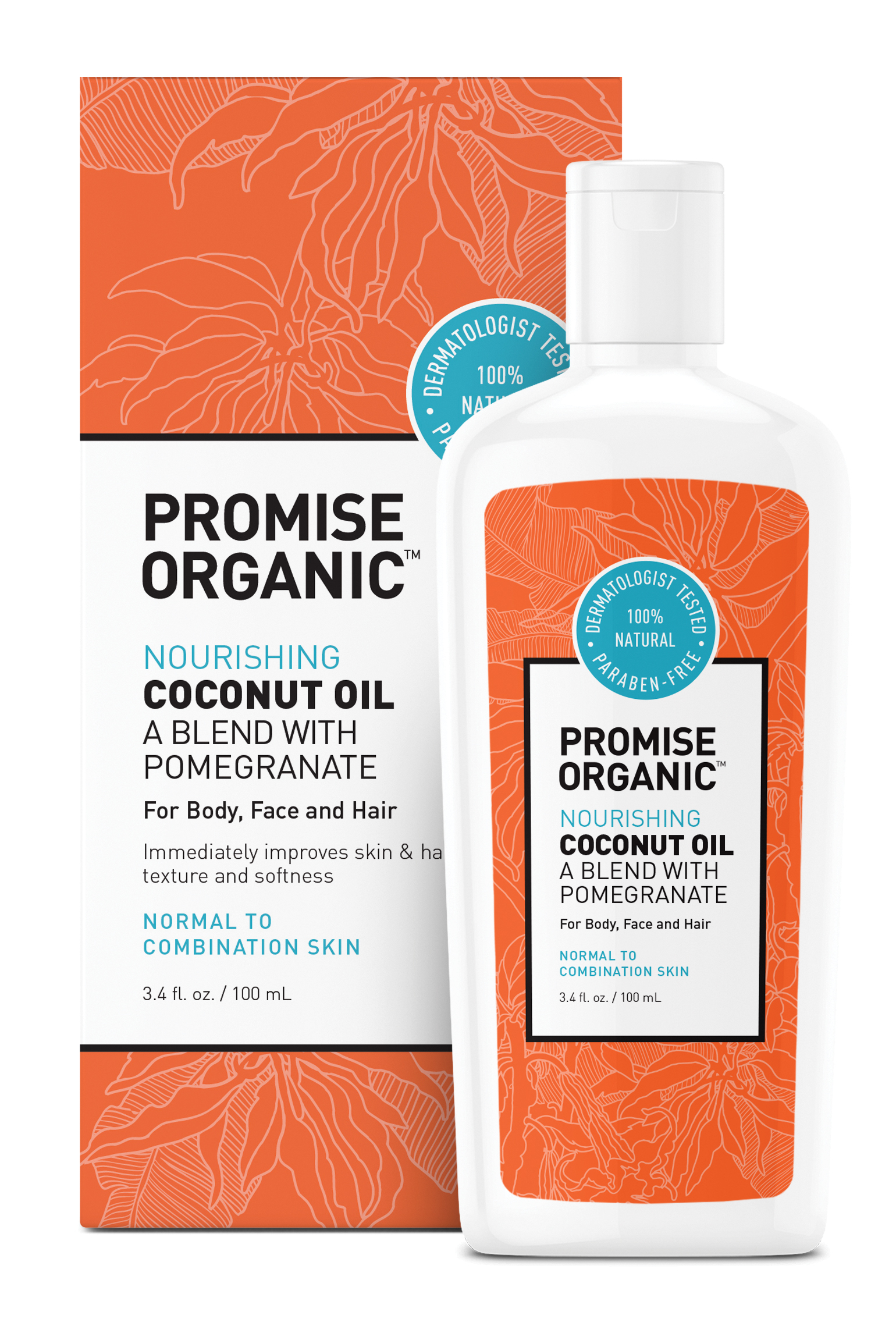 Promise Organic Nourishing Coconut Oil with Pomegranate