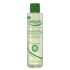 Simple Hydrating Cleansing Oil