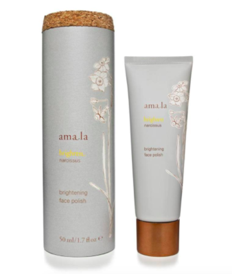 amala brightening face polish