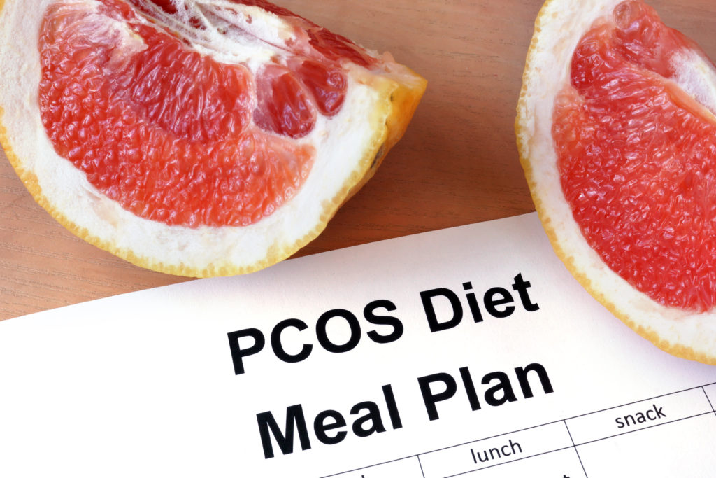 PCOS diet and meal plan